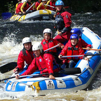 Box rafting visit fort william