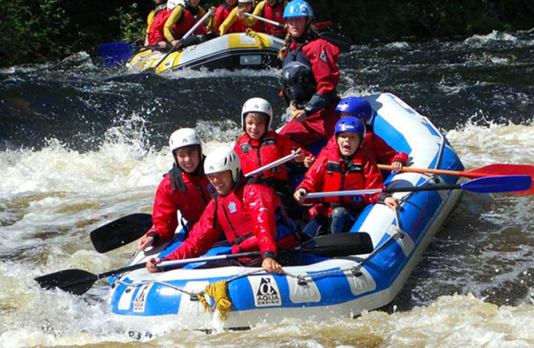 Feature rafting visit fort william