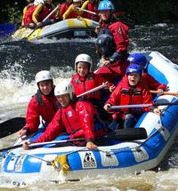 Meduim tall rafting visit fort william