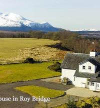 Achaderry Farmhouse is located near Roy Bridge on its own estate neighbouring Kinchellie Croft self catering holidays.The farmhouse was new on the ...