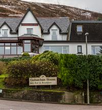 A warm welcome awaits you at Guisachan House, a family run guesthouse offering bed and breakfast in Fort William. We are situated in an elevated po...
