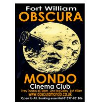 <b>This summer, cinema Obscura Mondo opens at the Lime Tree Gallery.</b>