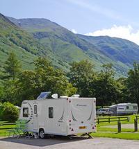 Meduim tall touringsite caravans 007 print