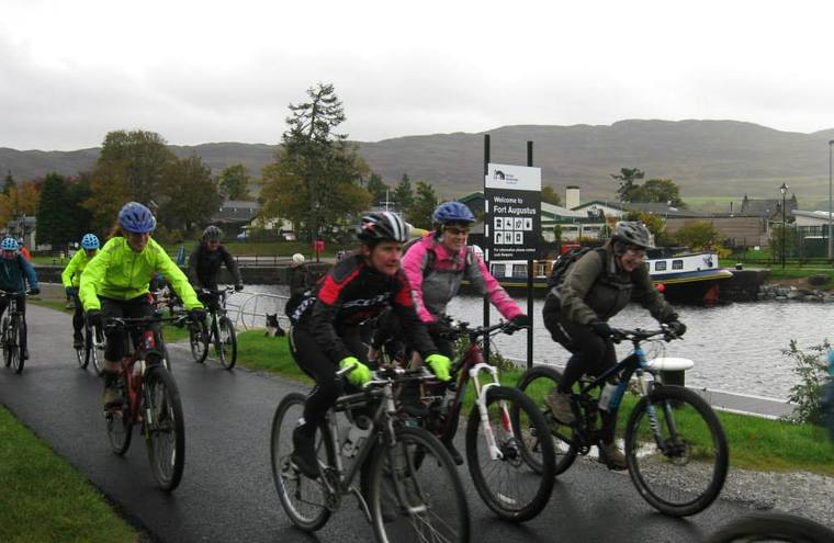 Feature fort augustus to fort william bike race