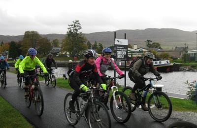 Medium fort augustus to fort william bike race
