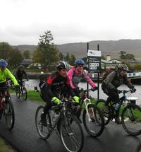 Meduim tall fort augustus to fort william bike race