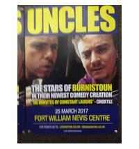 Stars of Burnistoun in their newest comedy creation and LIVE at the Nevis Centre in Fort William. Contact the Nevis C...