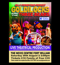 Sing-along with Goldilocks and The Three Bears For the first time ever, the much loved Fairy-tale comes to the stage ...