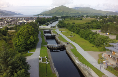 Caledonian Canal at Banavie