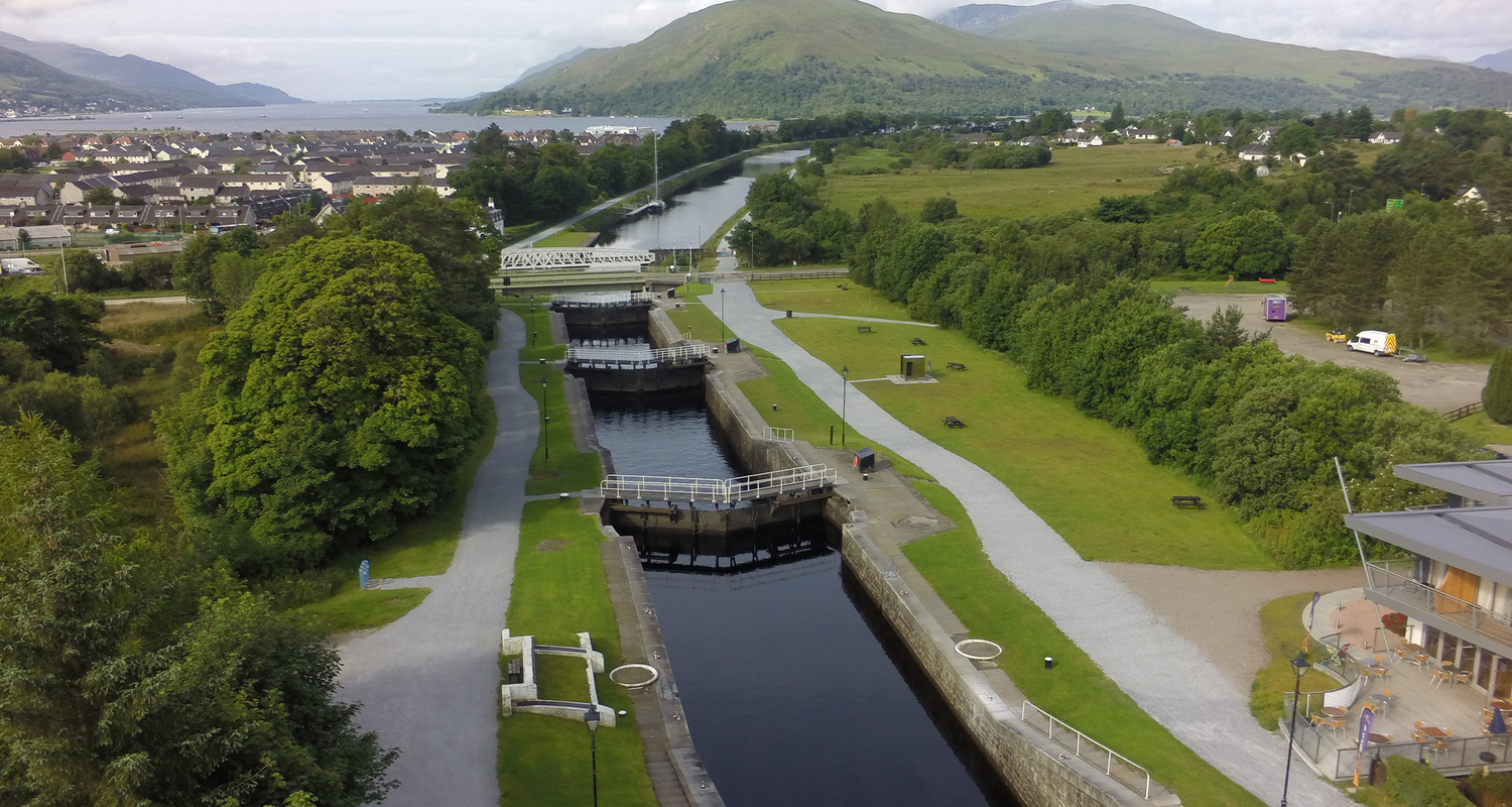 Caledonian Canal at Banavie