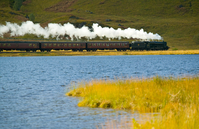 Steam Train making its way out to the West Coast