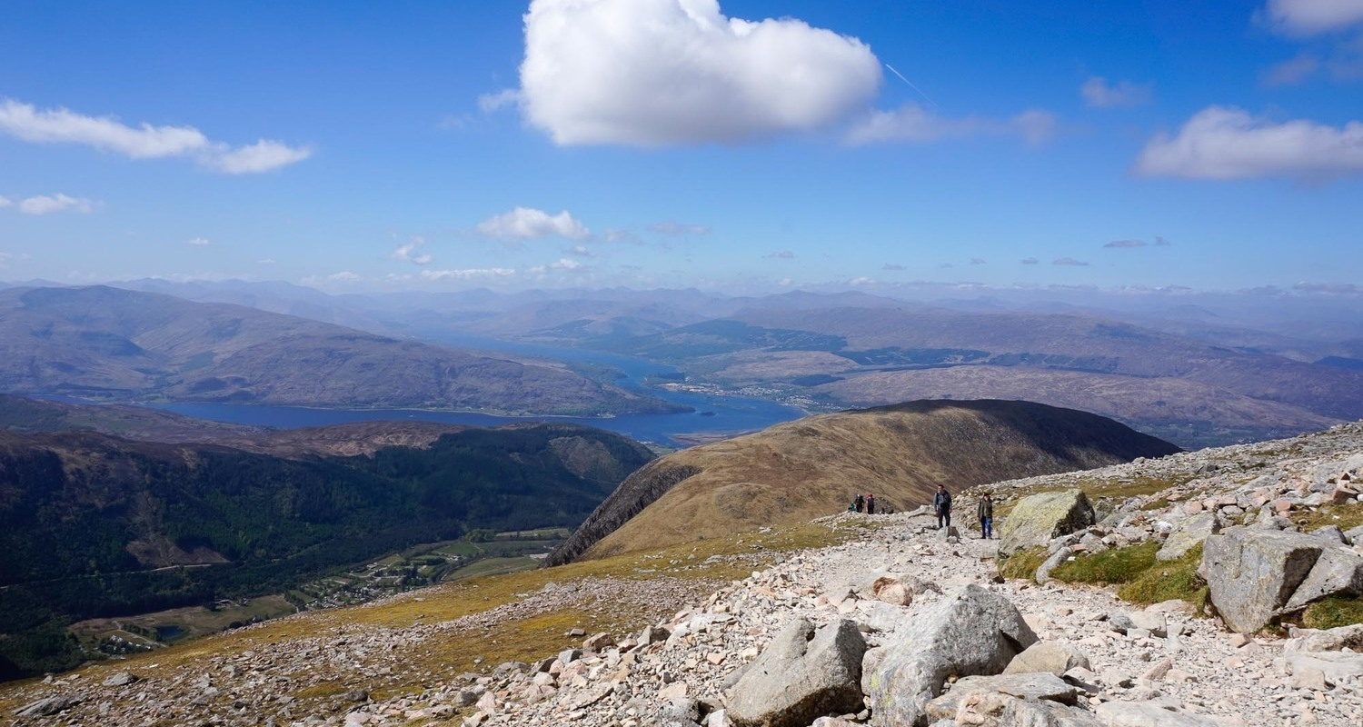 Ben Nevis mountain footpath