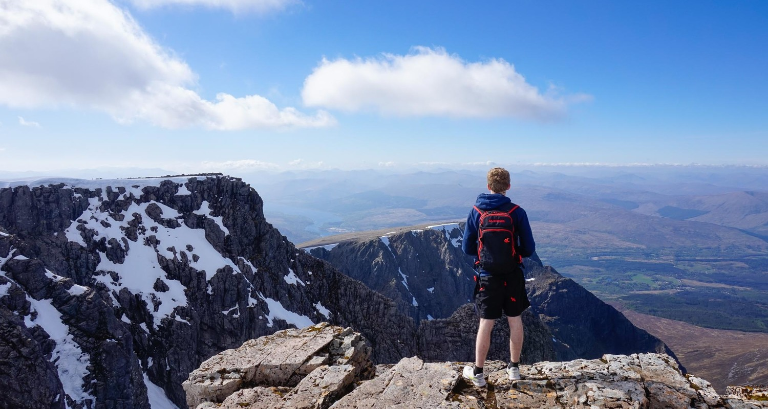 Ben Nevis summit - a bonnie view !