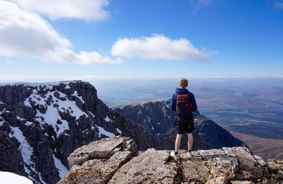 Ben Nevis summit - a bonnie view !