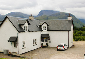 Culacrick is in an elevated position with superb views towards Ben Nevis.              We have three spacious bedrooms: One king-size bedroom which...