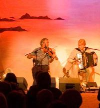 Ali Bain and Phil Cunningham - two of Scotland's foremost traditional musicians play at the Nevis Centre Fort William...