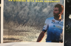 Around the world in 80 days on a bike. Come see the films and photographs of Mark Beaumont's epic adventures.
