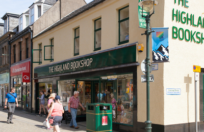 fort william town centre book shop