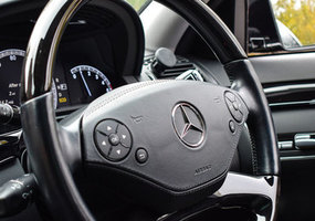 Listing mercedes interior