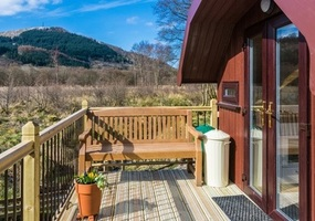 Our private pet friendly, self catering caravan accommodation in Glencoe is set in a secluded position with fantastic mountain views all around. Ou...