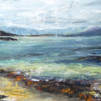 <span>Rose Strang is an Edinburgh-born landscape artist whose work captures the changing colours and atmosphere of ...