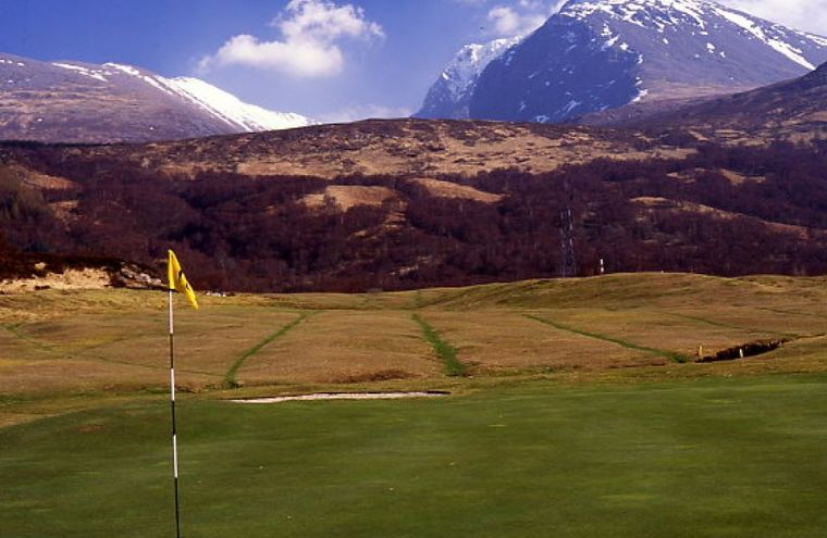 Feature 18th green fort william