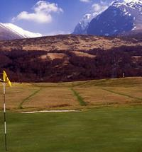 Meduim tall 18th green fort william