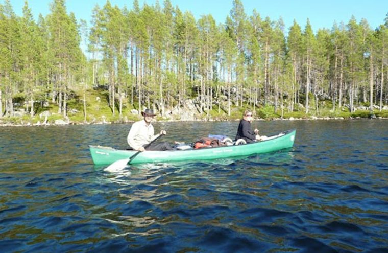 Feature wilderness guides canoeing