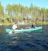 Meduim tall wilderness guides canoeing