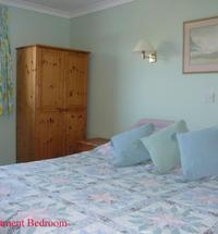 Meduim tall bedroom as king size double