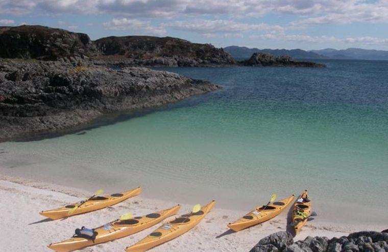 Feature beach at rhu point