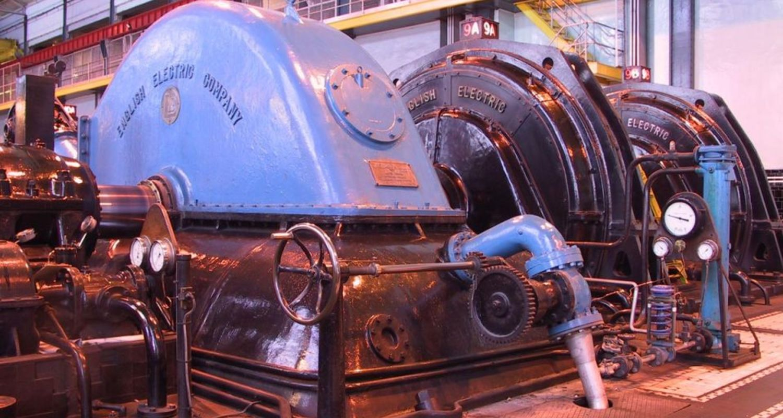 An original generator at Fort William