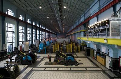 The original power plant