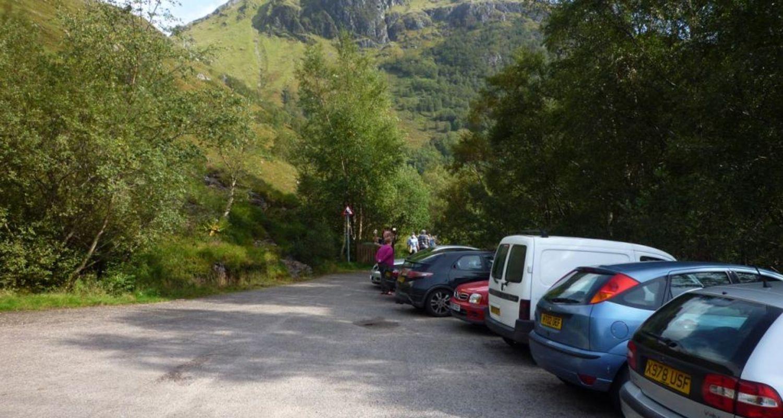 Glen Nevis upper car park