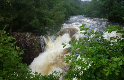 Torrential rainfall and River Nevis