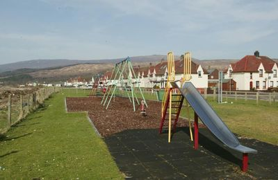 Swingpark in Caol