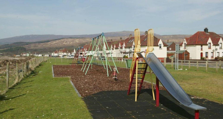 Swingpark in Caol
