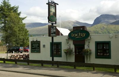 The Lochy in Caol