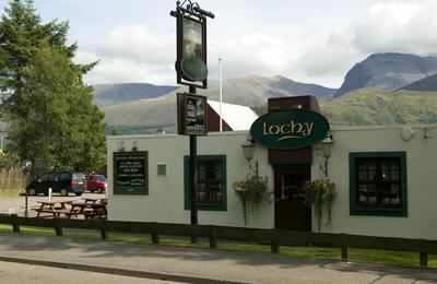 The Lochy in Caol