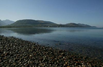 Fort William from Caol Beach