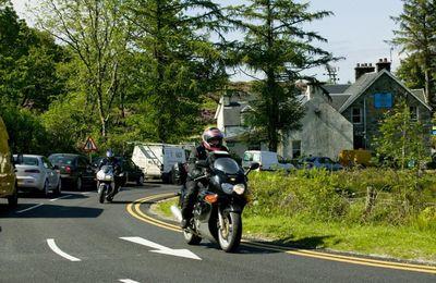 Good biking roads around Fort William