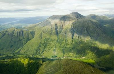 Ben Nevis from the air