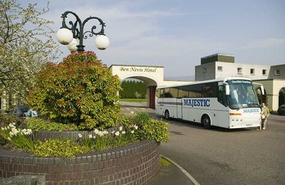 Coach tours at Ben Nevis Hotel