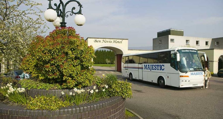 Coach tours at Ben Nevis Hotel