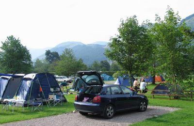 Camping in Glen Nevis