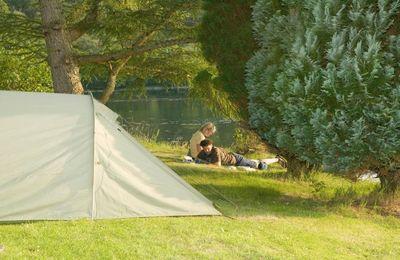 Camping by Loch Eil