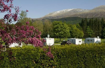 Motor homes in Fort William