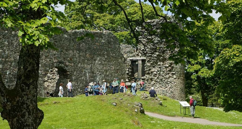 Inverlochy Castle Ruin