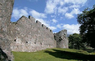 The walls of Old Inverlochy