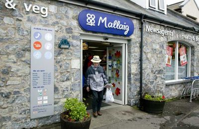 The Co-op in Mallaig